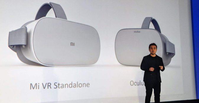 Xiaomi toont Xiaomi Mi VR Standalone Headset in samenwerking met Oculus en Qualcomm
