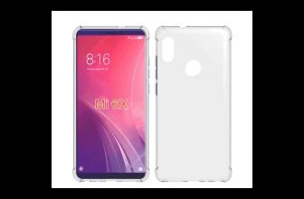 Xiaomi Mi 6X rendered met notch en verticale camerapositie