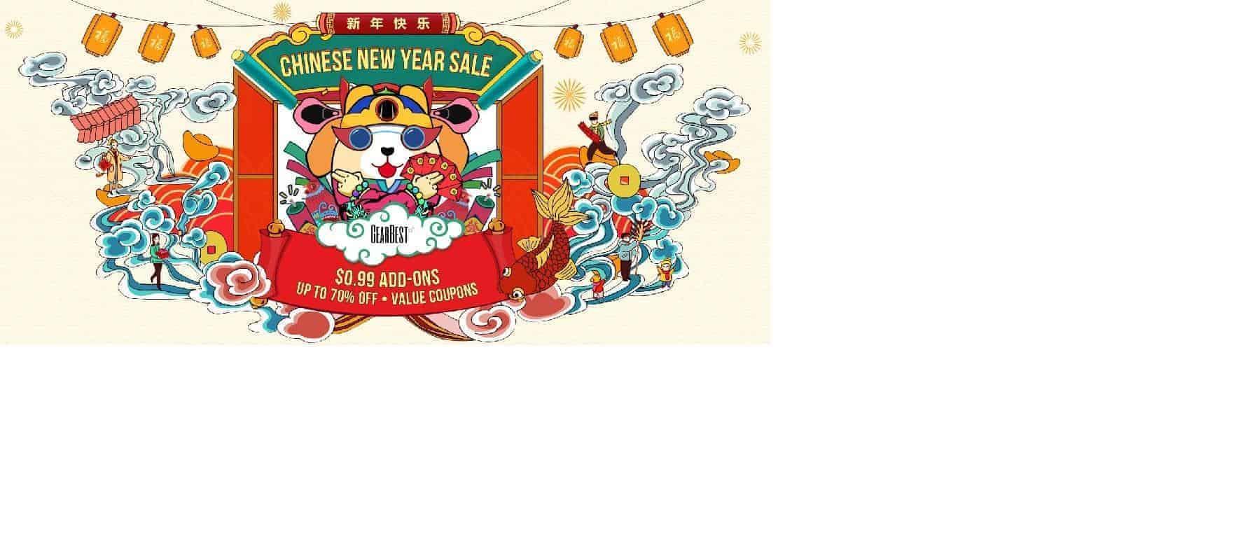 Xiaomi en Gearbest vieren Chinees Nieuwjaar