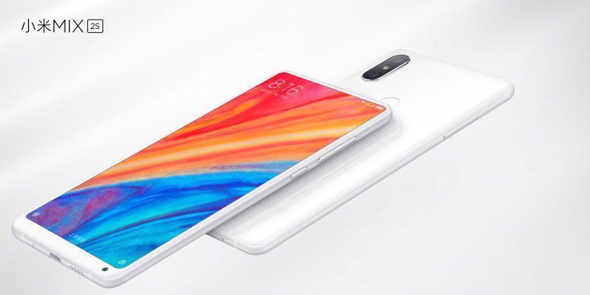 De pre-sale van de Xiaomi Mi Mix 2s is begonnen!