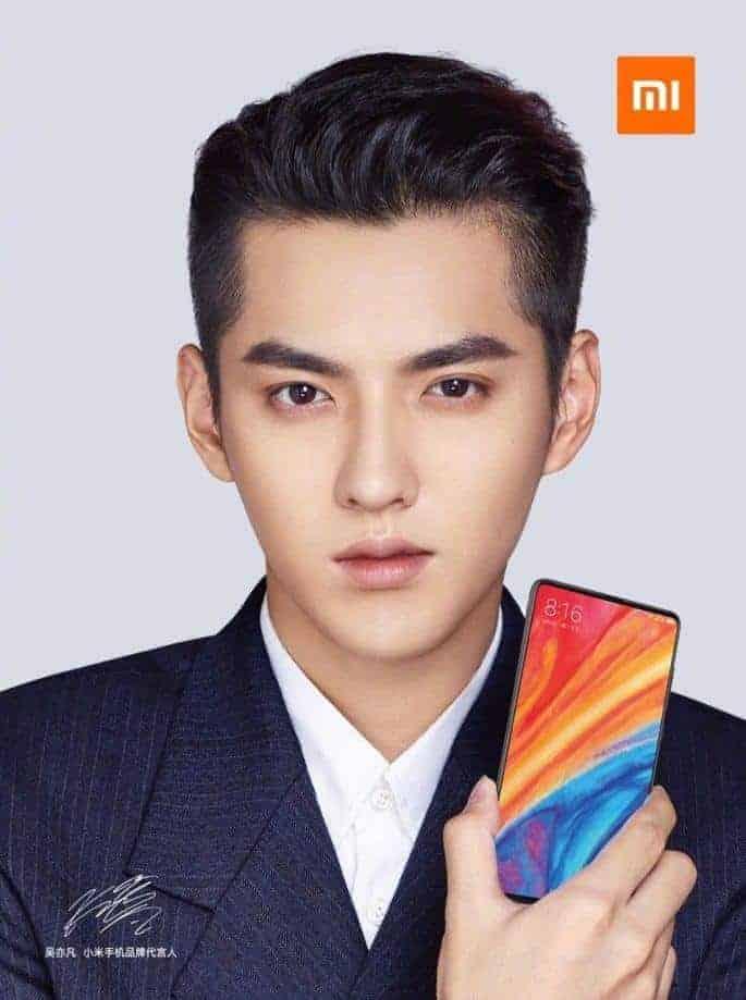 Xiaomi Mi Mix 2s front officieel