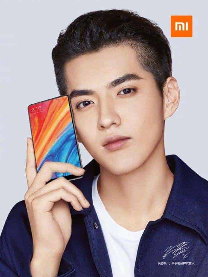 Xiaomi Mi MIX 2S Design official