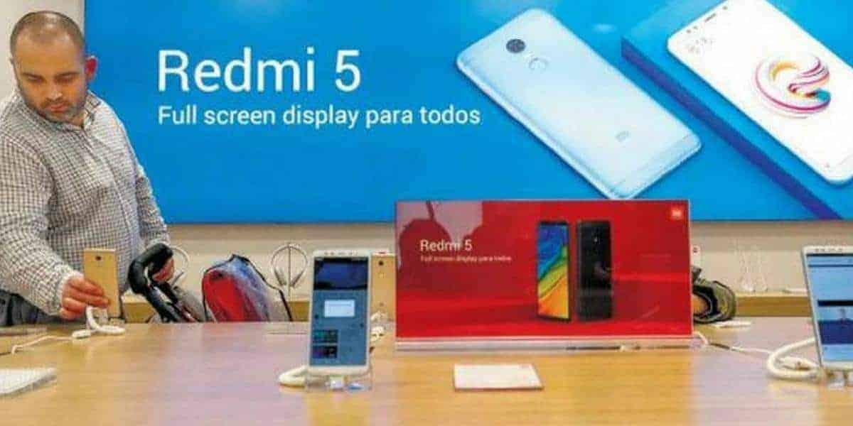 Xiaomi MI shop in Spanje