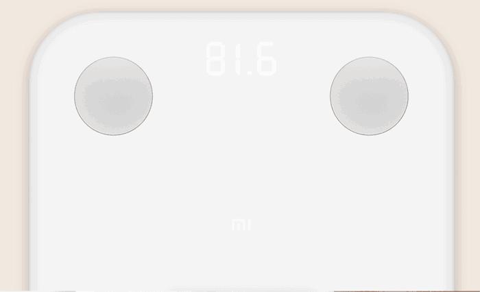Slimme weegschaal van Xiaomi
