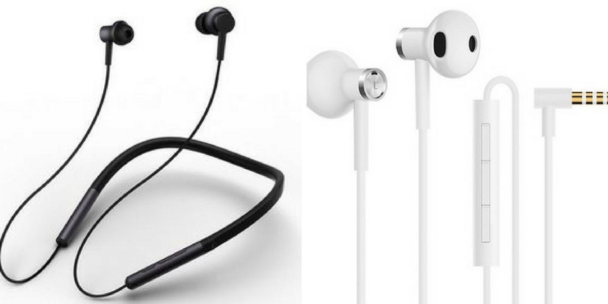 Xiaomi earphones, de MI Bluetooth headphones en de MI Dual Unit
