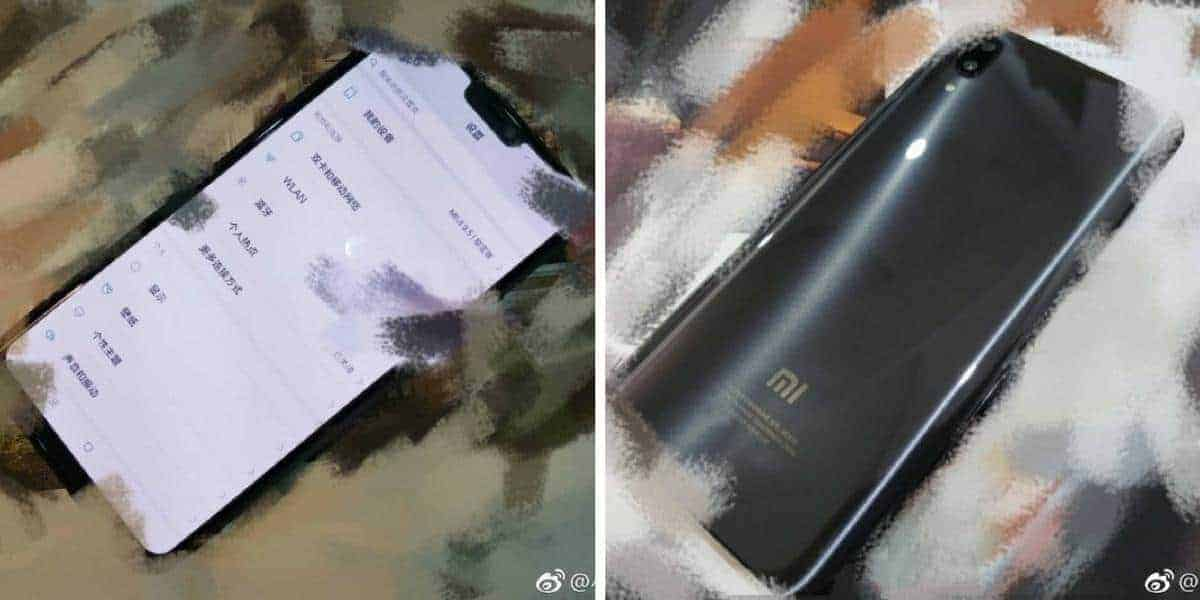 Xiaomi Mi 7 front and back 4 18