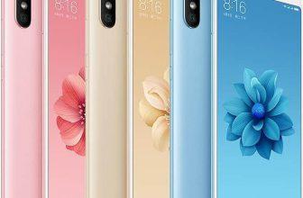 De Xiaomi Mi A2 in diverse kleuren