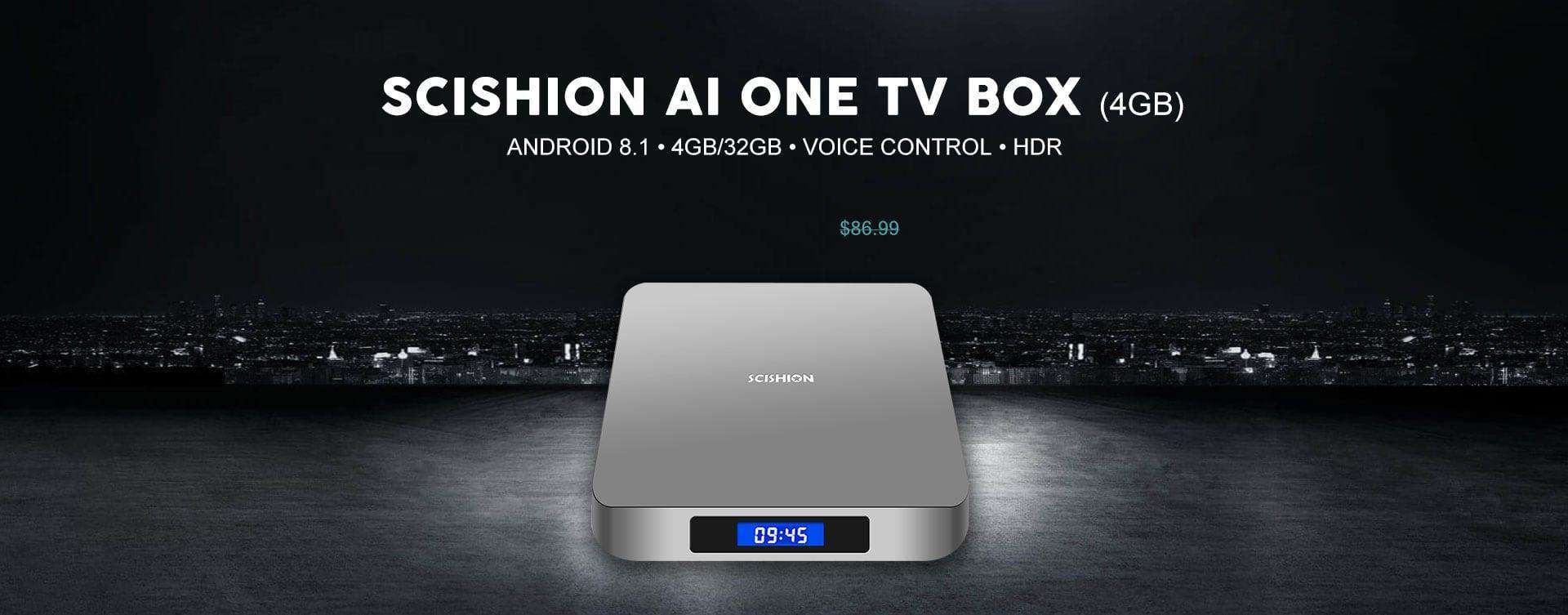 Scishion AI One TV Box