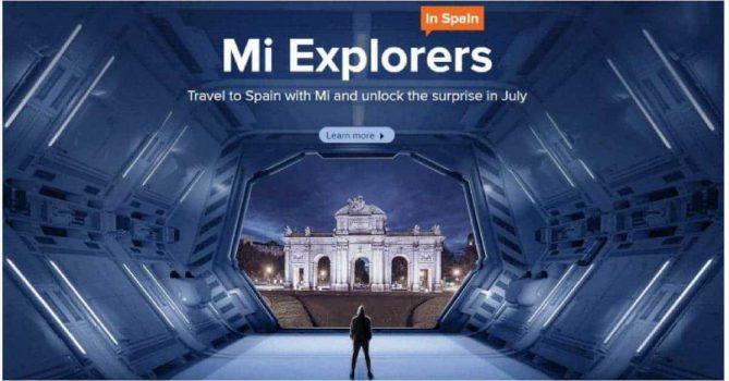 Mi Explorers in Spanje, juli 2018