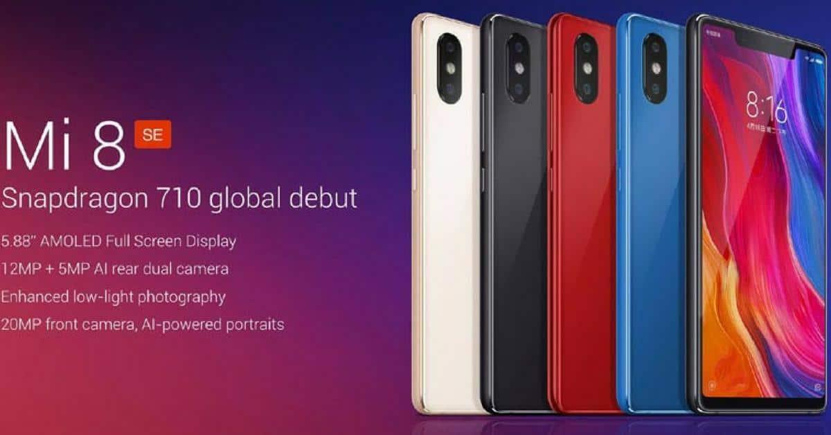Xiaomi Mi 8 SE specs