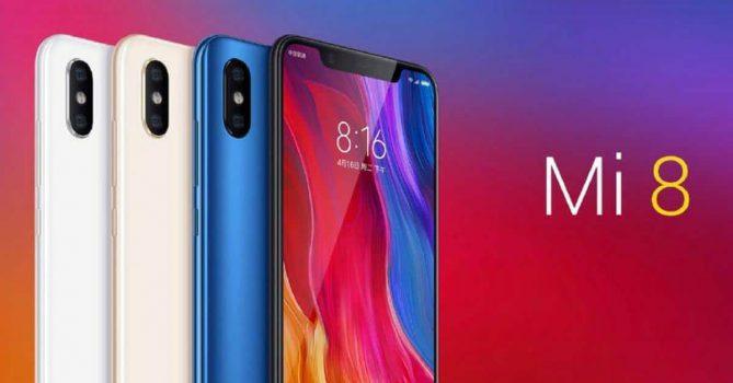 Xiaomi Mi 8 in in diverse uitvoeringen