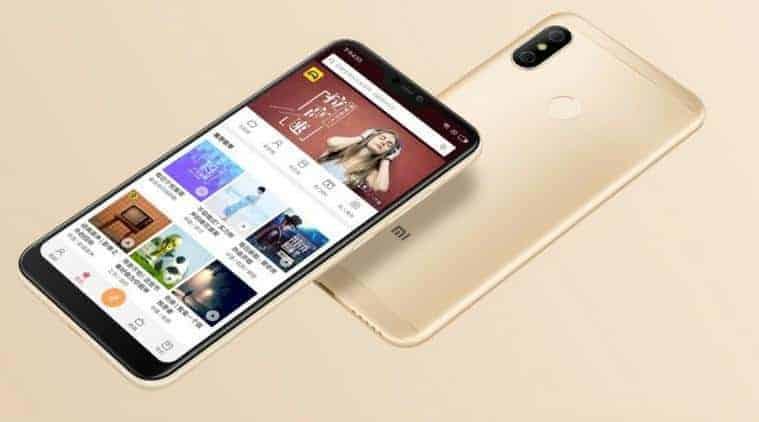 Xiaomi Redmi 6 Pro goudkleurig