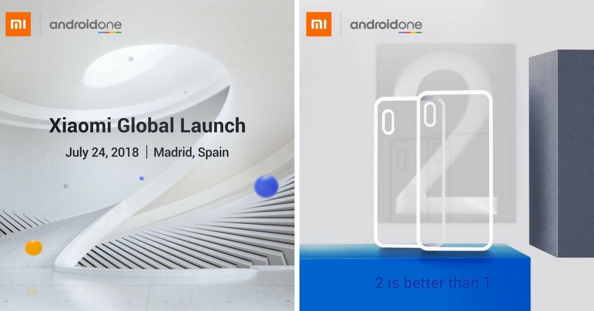 Xiaomi Mi A2 Lite teasers