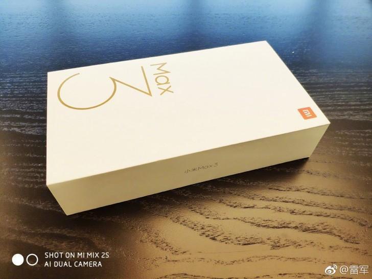Xiaomi Mi Max 3 box