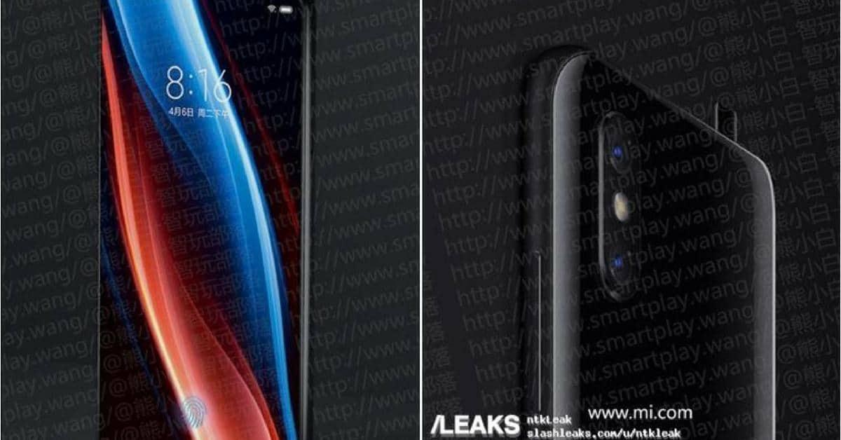Xiaomi MI Mix 3 met uitschuifbare camera
