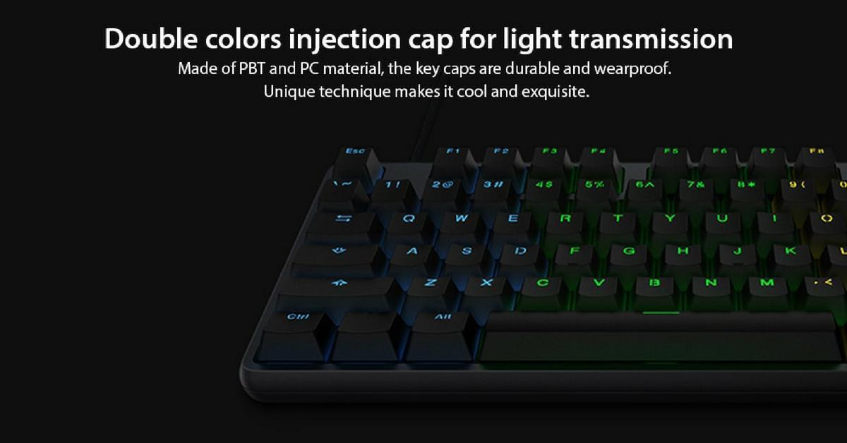 Xiaomi Game toetsenbord met verlichting