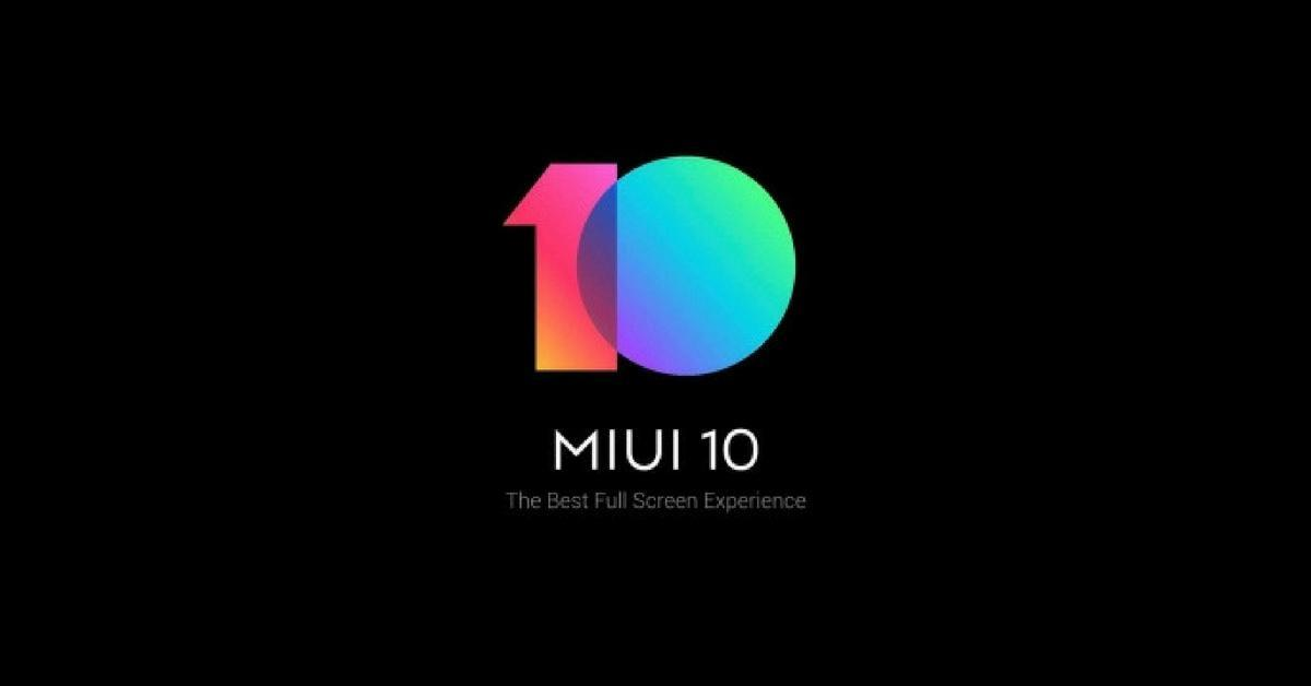 Xiaomi MUI !0 official logo