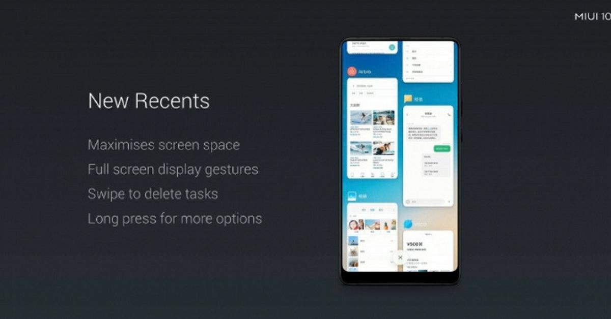Xiaomi MIUI 10 met belangrijkste verbeteringen