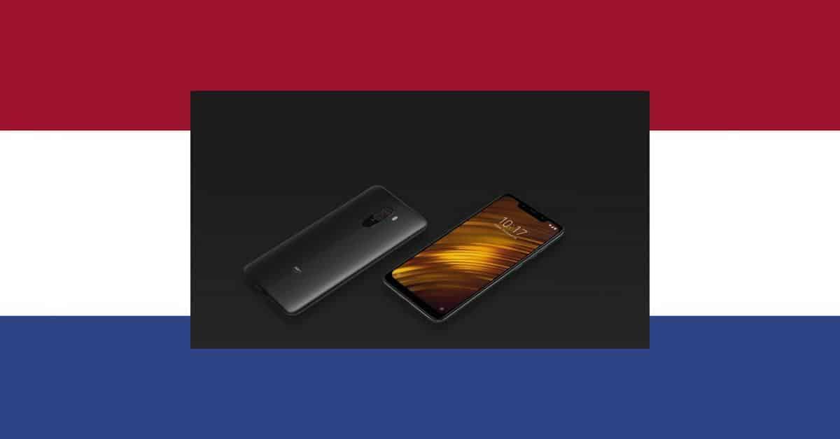 Xiaomi Pocophone F1 komt naar Nederland