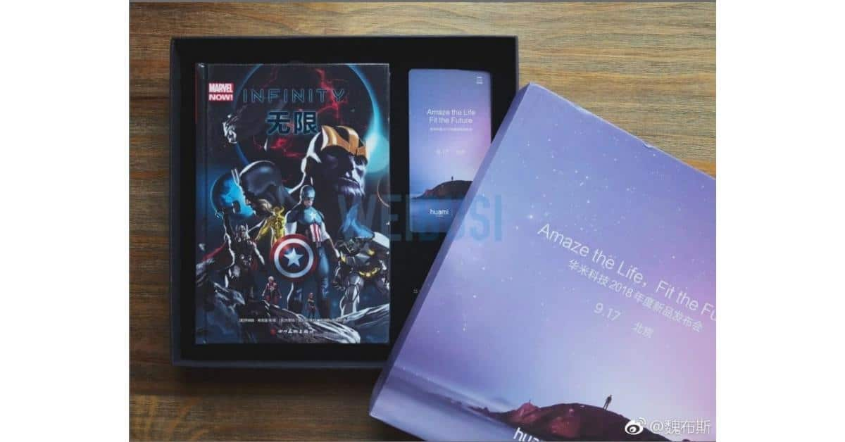 Xiaomi Huami Amazfit Avengers_ Infinity War edition boxset