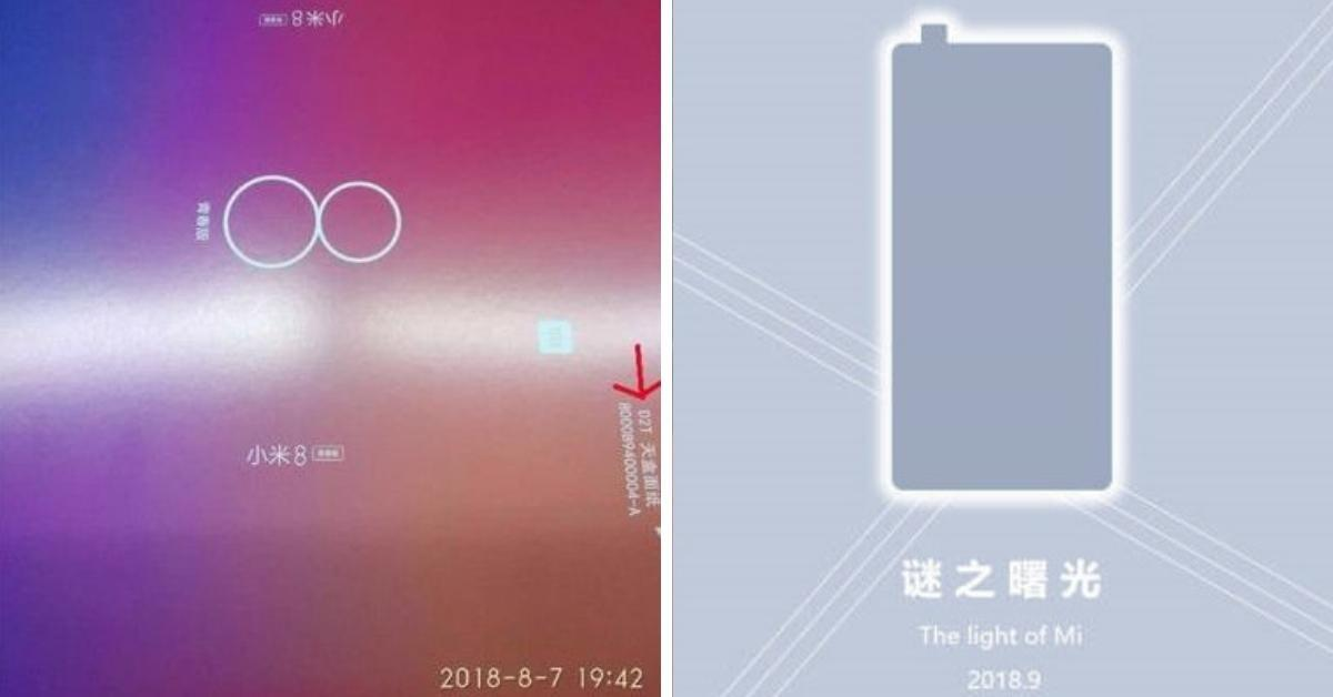 De Xiaomi Mi 8 Youth aankondiging en teaser voor launch event 15 september