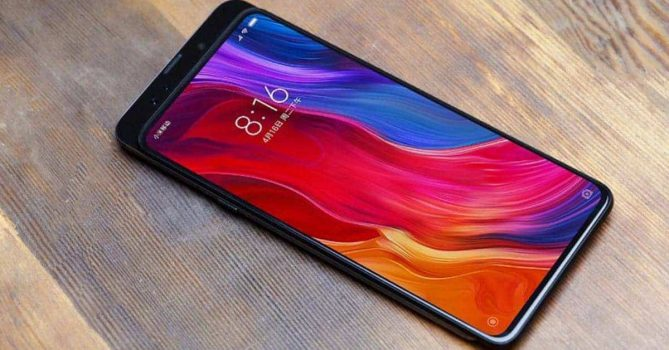 De Xiaomi Mi Mix 3 met uitschuifbaar front