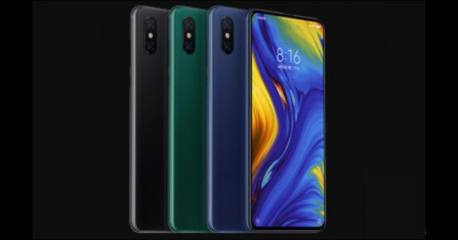 Xiaomi Mi Mix 3 in diverse kleuren