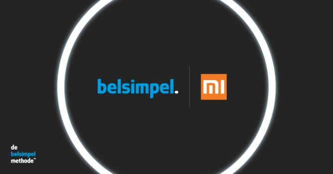 Xiaomi gaat samenwerking met Belsimpel.nl aan