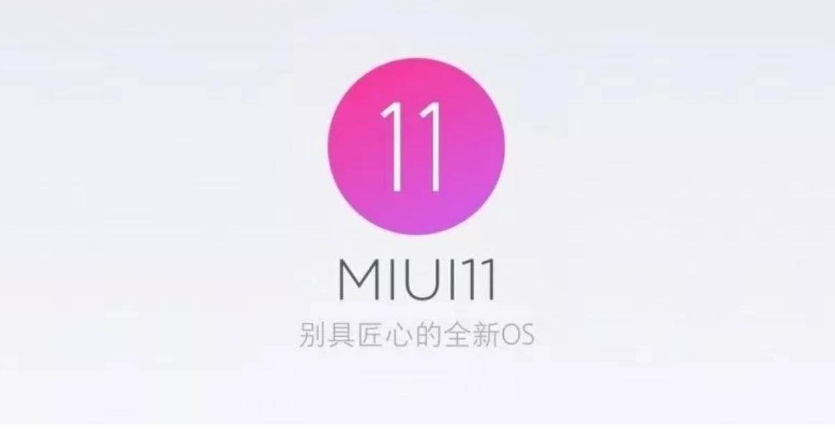 Besturingssysteem MIUI 11
