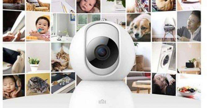 Xiaomi Mijia Smart IP Camera nightview