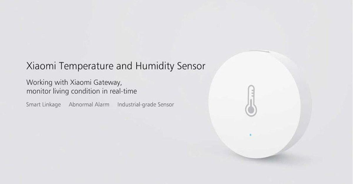 Xiaomi Mijia thermostaat en luchtvochtigheidsmeter