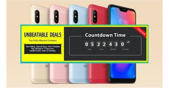Beste deals Xiaomi Mi Fans week 10