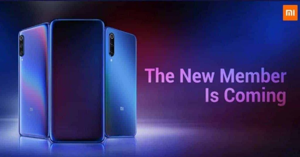 teaser Xiaomi Mi 9T