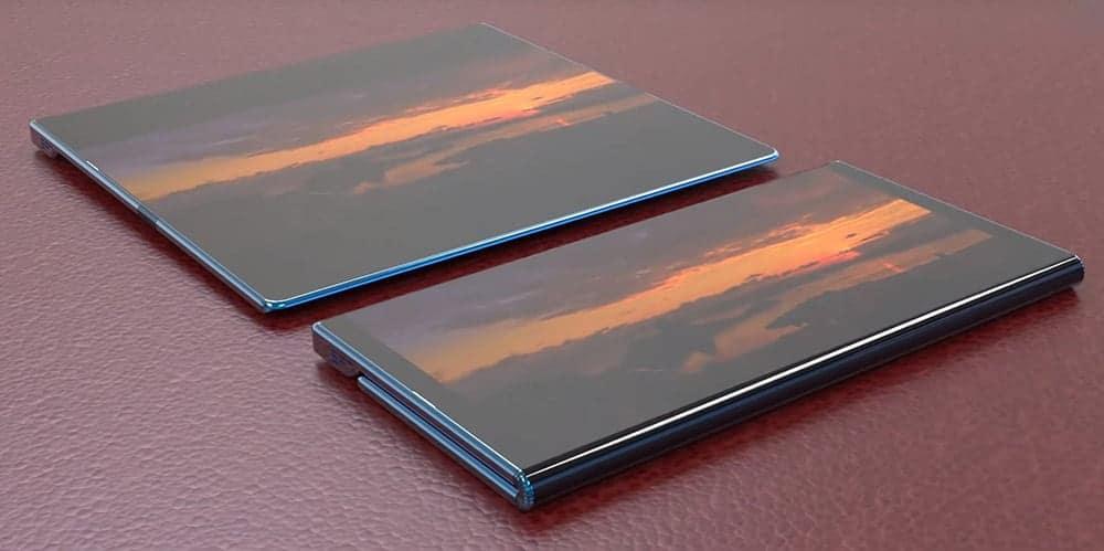 Xiaomi Mi Mix Fold opvouwbare smartphone gevouwen