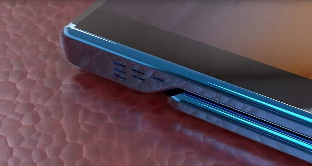 Xiaomi Mi Mix Fold opvouwbare smartphone zijkant