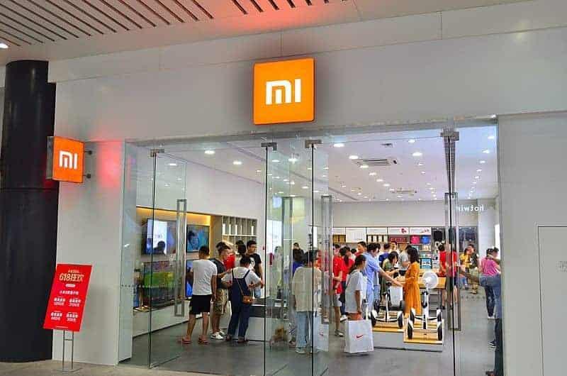 Xiaomi Mi Store fysieke winkels