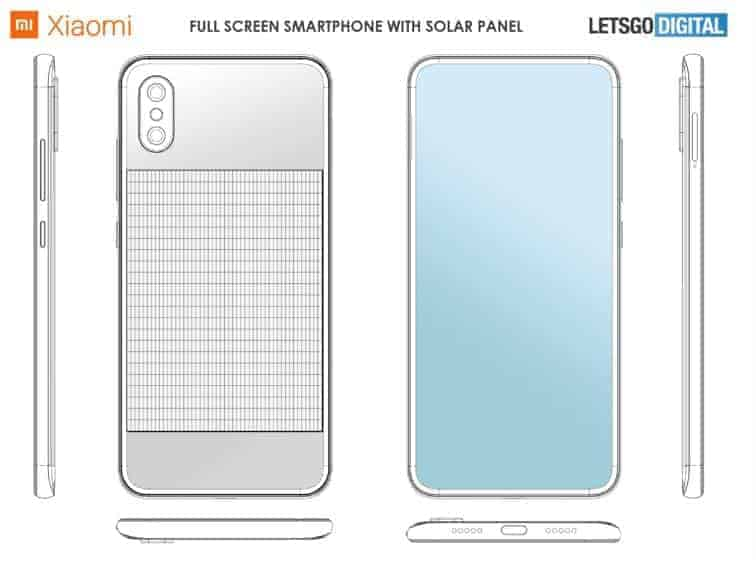 Xiaomi Mi Solar patent