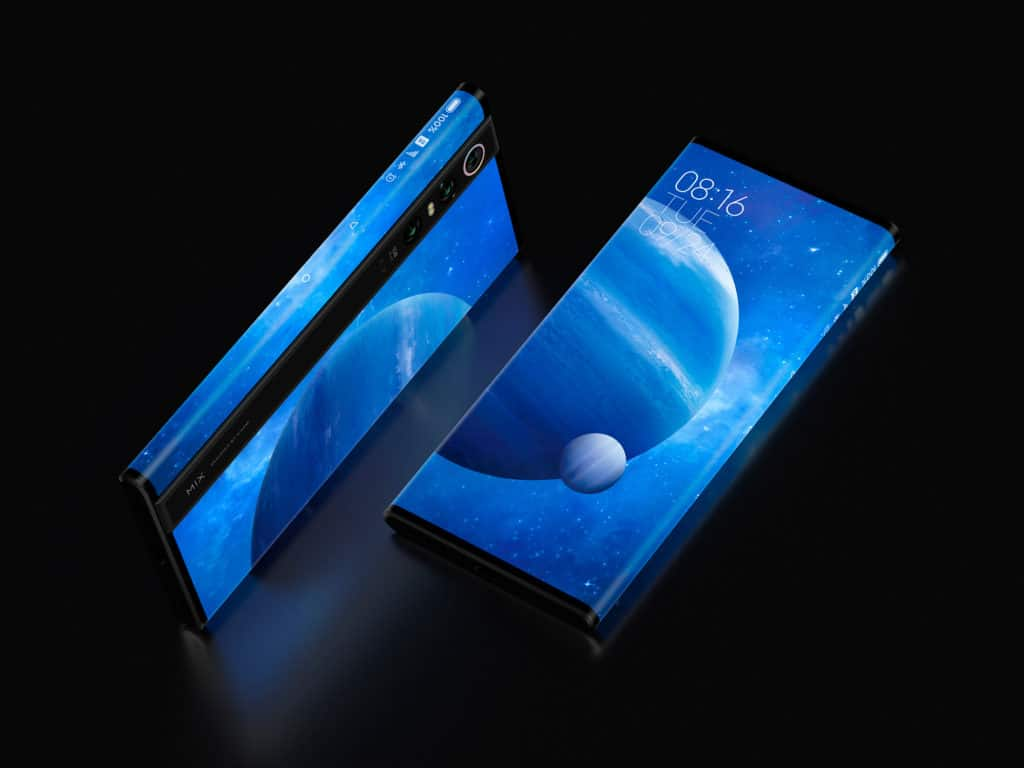 De Xiaomi Mi Mix Alpha met 180 procent screen to body.