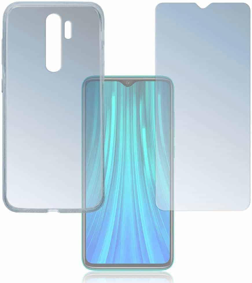 4smarts 360 protection cover xiaomi redmi note 8 pro transparant 5