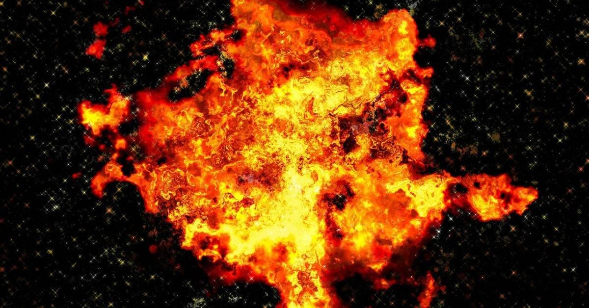 Explosie MiFans vuur