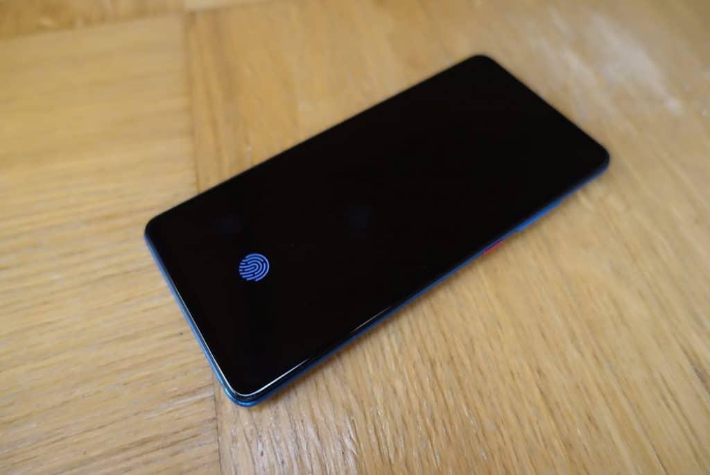 Xiaomi Mi 9T vingerafdruk fingerprint veilig