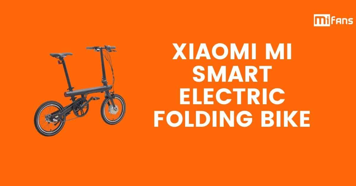 Xiaomi Mi Smart Electric Folding Bikefeatured 1
