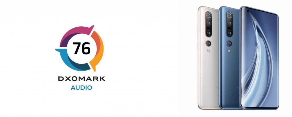Xiaomi Mi 10 Pro DxOMark geluid