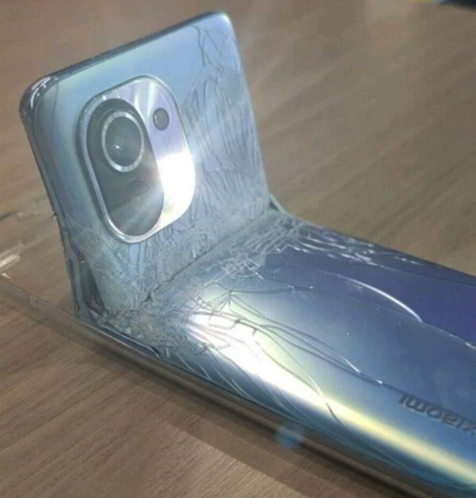 Xiaomi Mi 11 gebogen