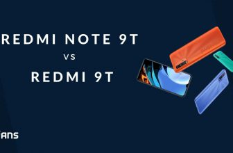 Redmi Note 9T vs Redmi 9T