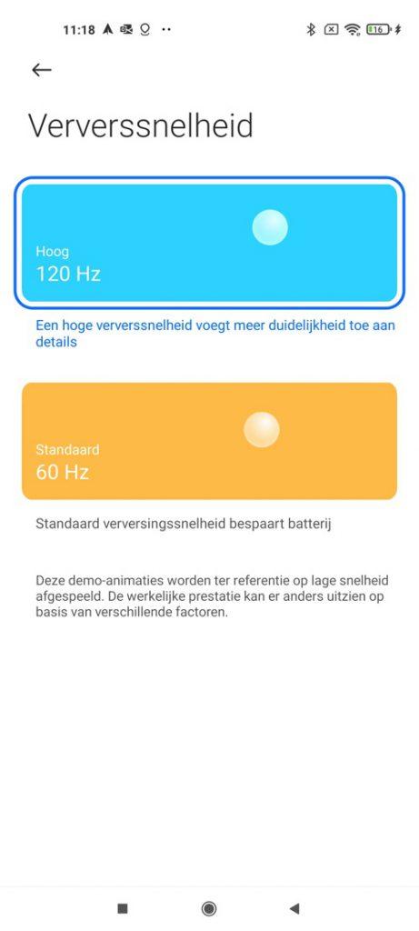 Xiaomi Mi 11 screenshot settings 1