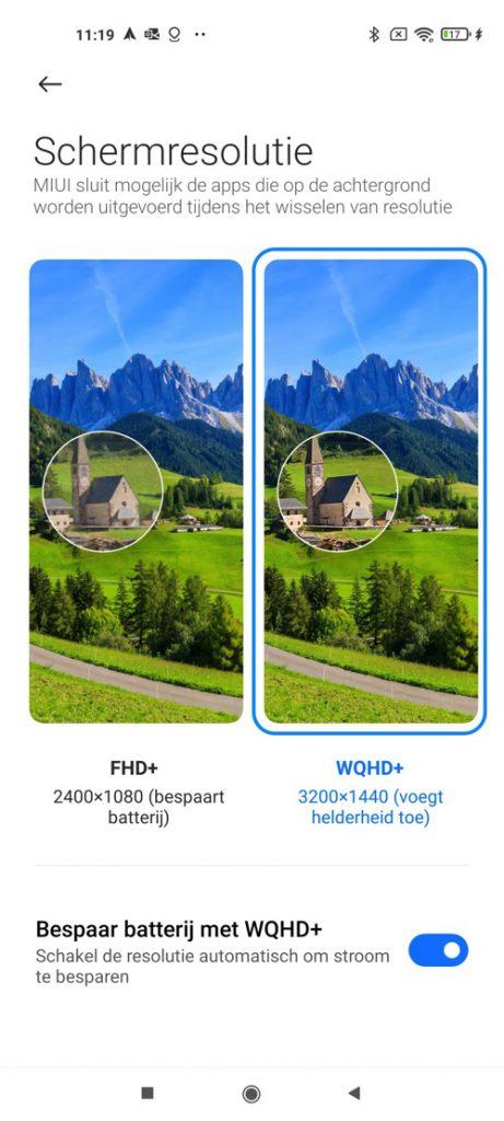 Xiaomi Mi 11 screenshot settings 2