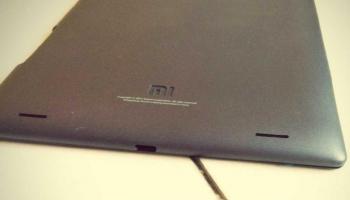 """""""Xiaomi MiPad tablet bijna klaar voor lancering"""""""