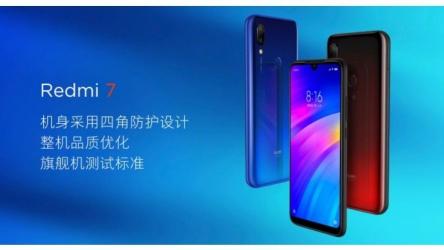 Xiaomi lanceert Xiaomi Redmi 7: bijzonder goedkope smartphone