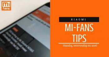 Zo maak je een Xiaomi-smartphone eenvoudig een stuk sneller